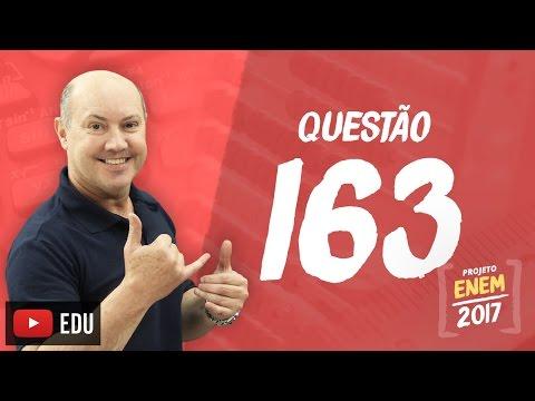 Enem 2016: Questão163(CadernoRosa)