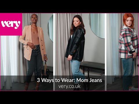 very.co.uk & Very Promo Code video: 3 Ways to Wear: Mom Jeans | Very
