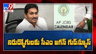 AP Job Calendar : నిరుద్యోగులకు గుడ్ న్యూస్ : Job Calendar విడుదల చేసిన CM Jagan - TV9 - TV9