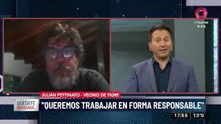 Julián Pettinato: Queremos trabajar en forma responsable