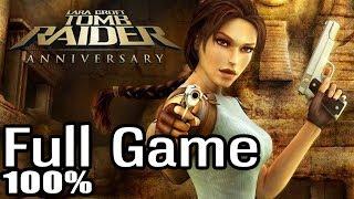 Tomb Raider Anniversary 100% Full walkthrough gameplay | Longplay