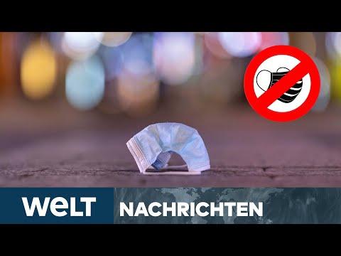 DIE MASKEN FALLEN: Viele Bundesländer wollen Maskenpflicht lockern | WELT Newsstream