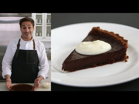 Foolproof Chocolate Tart - Kitchen Conundrums with Thomas Joseph