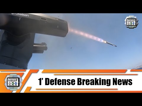Successful live firing test of guided missile from Turkish ULAQ AUSV Armed Unmanned Surface Vessel