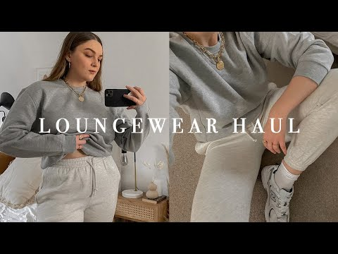LOUNGEWEAR AS OUTERWEAR HAUL & TRY ON | I Covet Thee