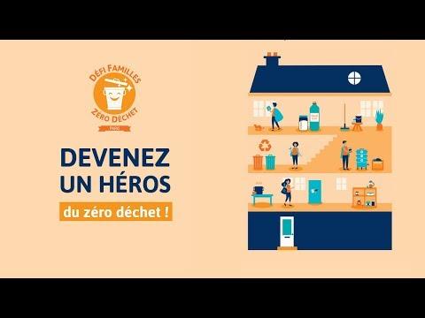 Lancement du défi Familles Zéro Déchet à Paris