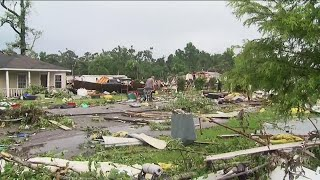 Claudette causes flooding, damage in parts of Alabama, Florida and Louisiana