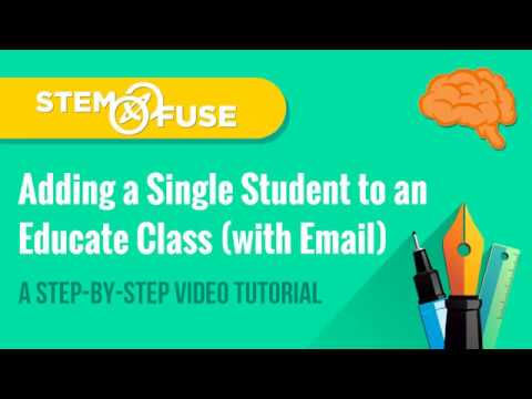 connectYoutube - Add a Single Student