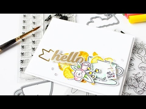 Watercolor Markers w/Carissa Wiley ft. HELLO & THANKS