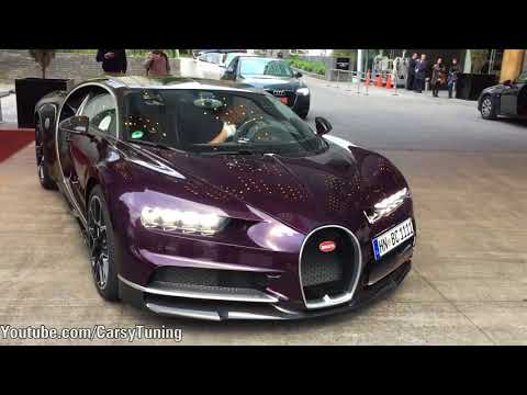 Bugatti Grand Tour 2017 - Special Delivery Bugatti Chiron in Santiago Chile!
