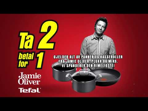 Uke 50 - Jamie Oliver panner og kasseroller + Siemens vaskemaskin