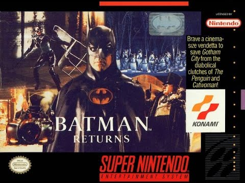 Micro Vintage - 51 .  Batman Returns (Snes)