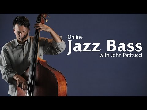 Jazz Bass Lessons with John Patitucci - Promo
