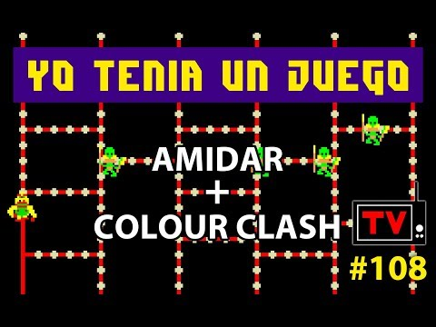 Yo Tenía Un Juego TV #108 - Amidar (Arcade) + Colour Clash (ZX Spectrum) + Preview Nogalious
