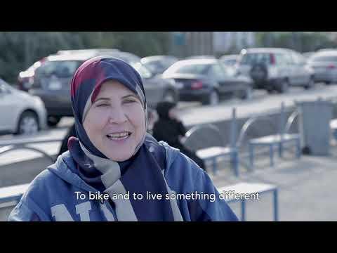 Förändring genom kreativitet: Cykla för första gången
