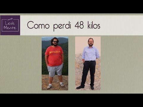 Como emagreci 48 kg