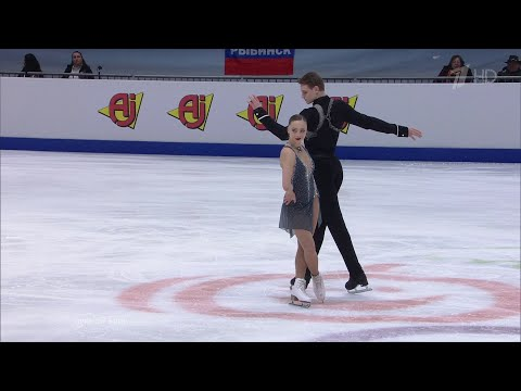 Александра Бойкова и Дмитрий Козловский выиграли золото чемпионата Европы!