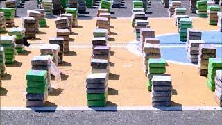 Incautan 1,713 paquetes de droga en la comarca Guna Yala, 4 detenidos