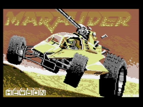 Marauder (Commodore 64) - Review de RETROJuegos por Fabio Didone