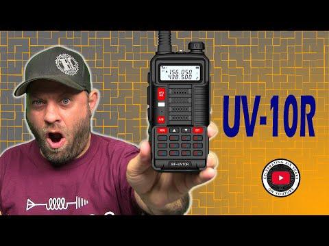 Baofeng UV-10R Dual Band HT Ham Radio - First Look!