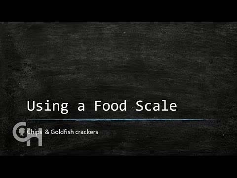 Using a Food Scale for Carb Counting
