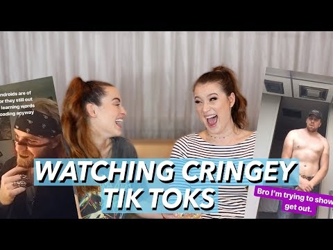 REACTING TO WEIRD TIK TOKS WITH JESSISMILES | Kat Chats