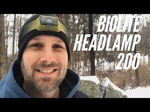 BioLite Headlamp 200: Under 2 Ounces,USB Rechargeable, 200 Lumens