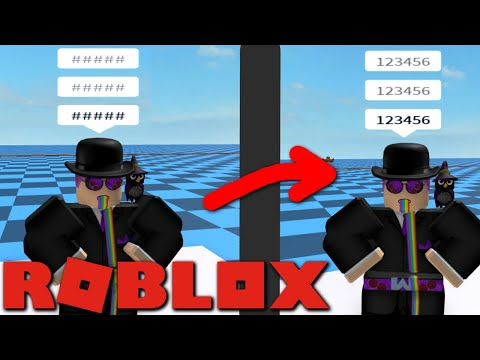 You can now say numbers on Roblox! No more hashtags!