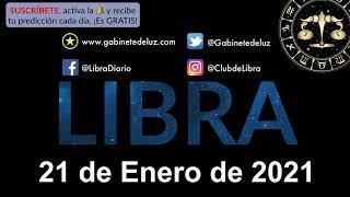 Horóscopo Diario - Libra - 21 de Enero de 2021.