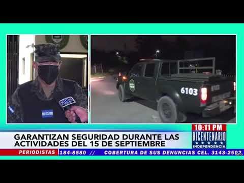 Cuerpos de Seguridad garantizan tranquilidad durante celebraciones del Bicentenario de Independencia