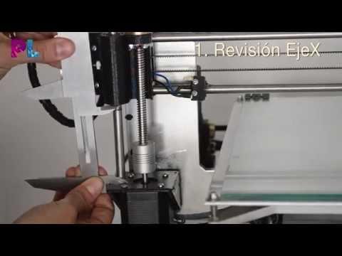 Video2: Calibra tu impresora