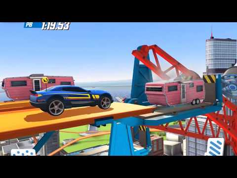 HOT WHEELS RACE OFF Supercharged Challenge #71 iOS / Android Rip Rod / Night Shifter / D-Muscle
