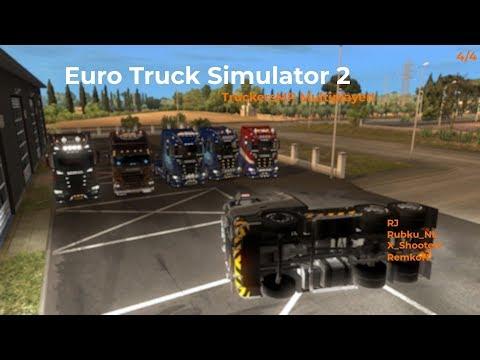 Euro Truck Simulator 2  TruckersMP  Part 44 Opname 07122017
