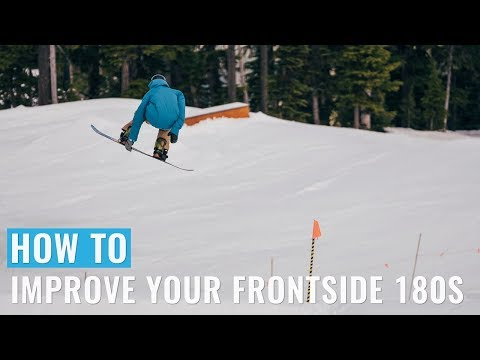 How To Improve Your Frontside 180's On A Snowboard