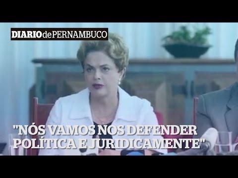 Dilma fala sobre processo de impeachment