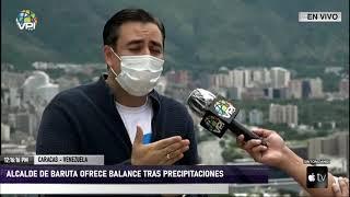 Caracas - Lluvias en Baruta no dejaron hechos que lamentar - VPItv