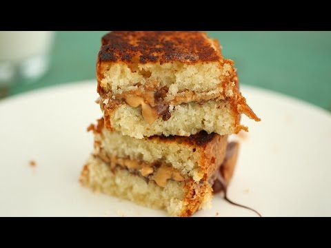 Peanut Butter and Milk Chocolate Sandwich - Everyday Food with Sarah Carey