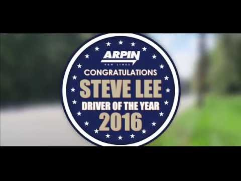 Arpin's 2016 Driver of the Year - Steve Lee