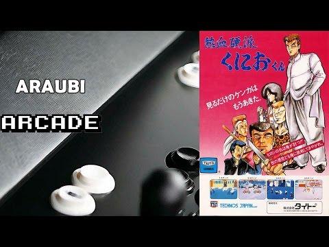 Renegade (Nekketsu Kôha Kunio-kun)(Technos, 1986) Arcade [054] Walkthrough Comentado (+Versión NES)