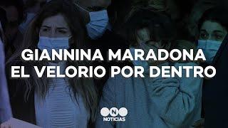 GIANNINA MARADONA rompió el silencio y contó CÓMO se VIVIÓ el VELORIO del DIEZ POR DENTRO - Telefe