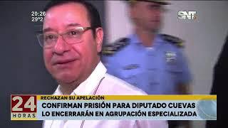 El diputado Miguel Cuevas presenta hábeas corpus para evitar su prisión