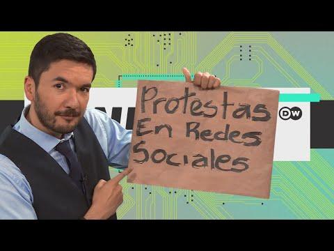 Protestas en las redes sociales