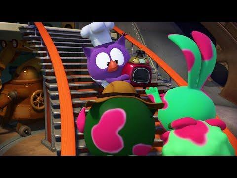 Кадр из мультфильма «Пин-код. Прыжок в будущее. Мультиповар»