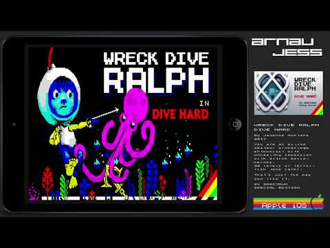 WRECK DIVE RALPH in Dive hard Zx Spectrum SPECIAL EDITION iOS