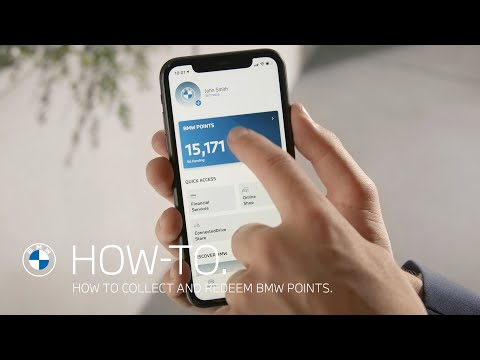 How to collect and redeem BMW Points – BMW How-To