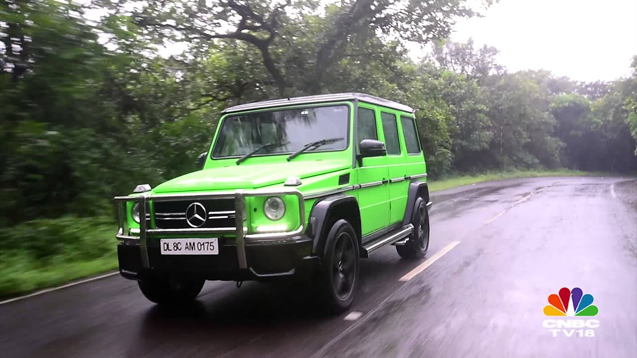2015 Mercedes-AMG G63 Crazy Colour review road test by OVERDRIVE