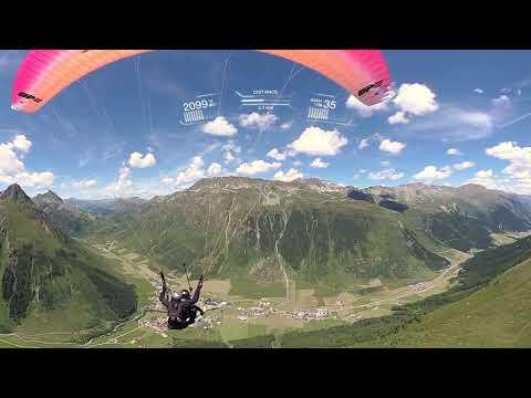 Garmin VIRB® 360 - Paragliding