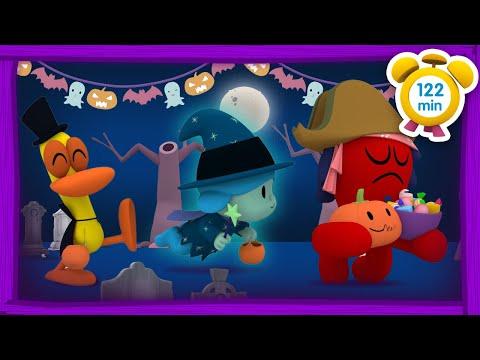 🎃 POCOYÓ en ESPAÑOL – La noche de Halloween [122 min] | CARICATURAS y DIBUJOS ANIMADOS para niños