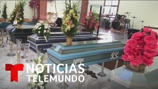 Sepultan a siete miembros de la misma familia en El Salvador, víctimas de un alud