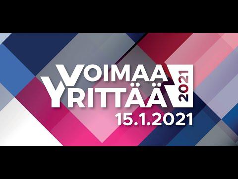 """Voimaa Yrittää 2021 feat. Juho """"Jufo"""" Peltomaa"""